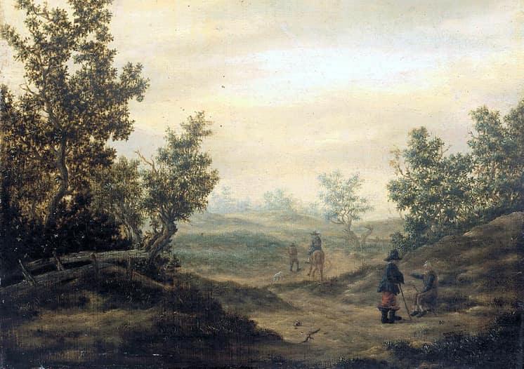 Claes van Beresteyn - Pad door de duinen