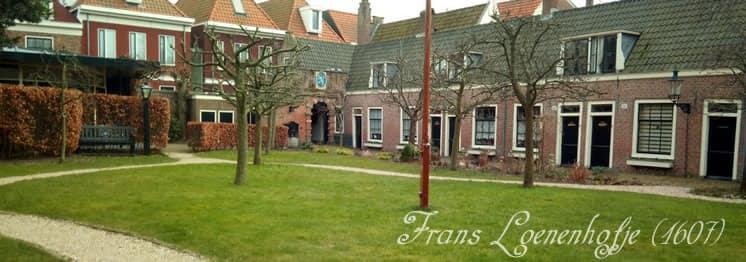Frans Loenenhofje in Haarlem
