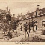 Historische ansicht Zuiderhofje Haarlem