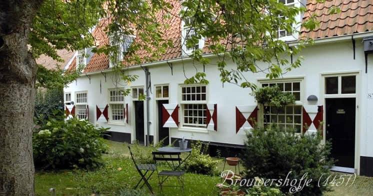 Brouwershofje Haarlem St.Maartenshofje