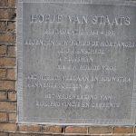 Gedenksteen Hofje van Staan