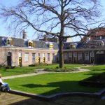 Haarlems Hofje van Staats overzichtsfoto