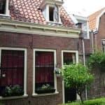 in het Bruiningshofje Haarlem