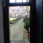 Haarlems Hofje van Staats - doorkijkje